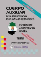 AUXILIARES ADMINISTRACIÓN GENERAL (TESTS)