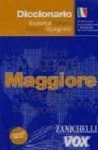 diccionario maggiore español-italiano / italiano-español (incluye cd-rom)-9788483327241