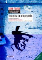 textos de filosofia: universidades de andalucia-9788484836841