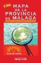 mapa de la provincia de malaga 9788489672741