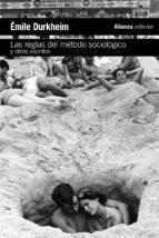 las reglas del método sociológico y otros escritos-emile durkheim-9788491045441
