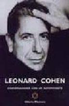 leonard cohen: conversaciones con un superviviente-alberto manzano-9788493458041