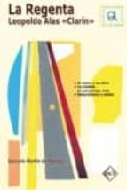 la regenta   leopoldo alas clarin  (guia de lectura) gonzalo martin de marcos 9788496634541