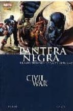 pantera negra: civil war- reginaldhudlin-9788496871441