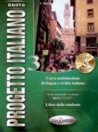 nuovo progetto italiano 3 studente + cd b2 c1 9789606930041