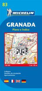 plano michelin granada (ref.19083)-9782067127951