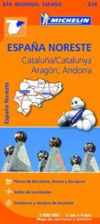 mapa regional cataluna/catalunya 2013 9782067184251