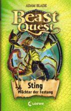 beast quest 18 – sting, wächter der festung (ebook)-adam blade-9783732009251
