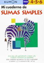metodo kumon: mi libro de sumas simples 9788415857051