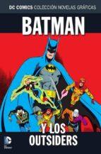 coleccion novelas graficas nº 73: batman y los outsiders 9788417480851