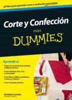 corte y confeccion para dummies-gemma lucena-9788432902451