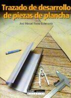 trazado de desarrollo de piezas de plancha-jose manuel saenz echevarria-9788432911651