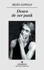 deseo de ser punk-belen gopegui-9788433971951