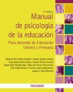 manual de psicología de la educación (2ª ed.) maria del mar prados gallardo 9788436835151