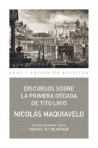 discursos sobre la primera década de tito livio (ebook) 9788446044451