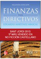 finanzas para directivos (2ª ed)-eduardo martinez abascal-9788448175351