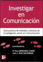 investigar en comunicacion mª rosa berganza conde 9788448198251