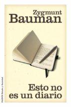 esto no es un diario (ebook)-zygmunt bauman-9788449327551