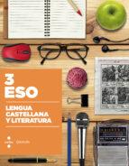 lengua castellana y literatura. construïm 2015 3º eso 9788466138451