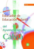 EDUCADOR DE EDUCACION INFANTIL DEL AYUNTAMIENTO DE CALVIÀ. TEST