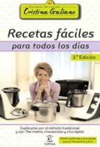 (pe) recetas faciles para todos los dias (3ª ed.) cristina galiano 9788467022551