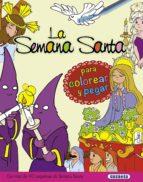 El libro de La semana santa para colorear y pegar autor ANTONIO DE BENITO DOC!