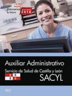 AUXILIAR ADMININSTRATIVO (SACYL) TEST