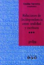 relaciones de independencia entre oralidad y escritura-9788474329551