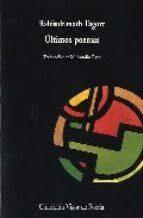 ultimos poemas-rabindranath tagore-9788475221151
