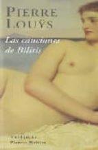 canciones de bilitis pierre louys 9788477026051