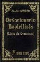 devocionario espiritista: libro de oraciones allan kardec 9788479101251