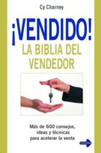 ¡vendido! la biblia del vendedor-cy charney-9788479277451