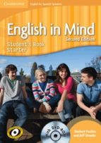 english in mind for spanish speakers starter level student s book with dvd rom 9788483239551