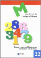 cuaderno de matematicas, n. 22 9788489655751