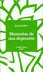 memorias de una depresion joaquin diaz 9788494659751