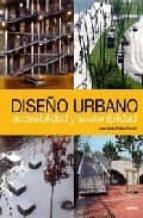 diseño urbano: accesibilidad y sostenibilidad (ed. bilingüe ingle s-español)-jose maria ordeig-9788496429451