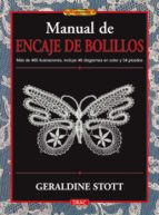 manual de encaje de bolillos geraldine stott 9788496777651