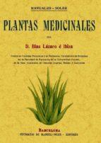 plantas medicinales (ed. facsimil) blas lazaro e ibiza 9788497614351