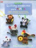 quilling moderno para niños-gudrun schmitt-9788498744651