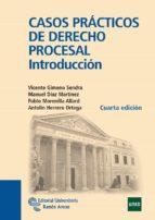 casos practicos de derecho procesal: introduccion (4ª ed.) vicente gimeno sendra manuel diaz martinez 9788499611051