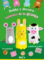 dobla y decora- animales de la granja-9789037493351