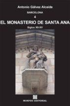 barcelona. el monasterio de santa ana (ebook)-cdlap00002951