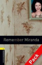remember miranda (incluye cd) (obl 1: oxford bookworms library) 9780194788861