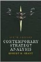contemporary strategy analysis : concepts, techniques, applicatio robert m. grant 9780470257661