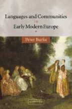 languages and communities in early modern europe-peter burke-9780521535861
