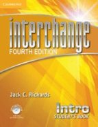 interchange intro student s book with self-study dvd-rom-jack c. richards-9781107648661