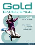 El libro de Gold experience language and skills workbook a2 autor VV.AA. DOC!