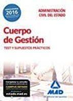 cuerpo de gestión de la administración civil del estado. test y supuestos prácticos-9788414206461