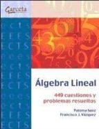 algebra lineal paloma sanz francisco 9788415452461