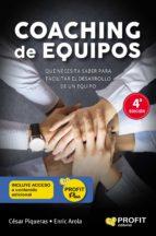 coaching de equipos (ebook)-cesar piqueras-9788415505761